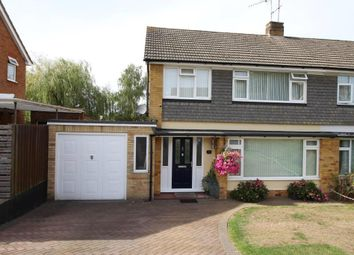Thumbnail 3 bed semi-detached house for sale in Foxcombe Drive, Tilehurst, Reading