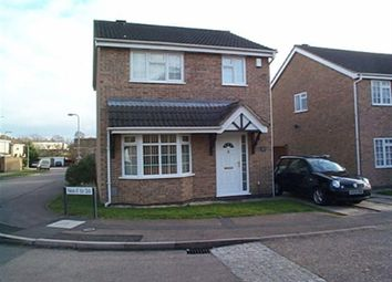 Thumbnail 3 bed detached house to rent in East Rising, East Hunsbury, Northampton