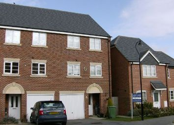 Thumbnail 3 bed town house for sale in Rickyard Walk, Grange Park, Northampton