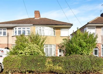 Thumbnail 3 bed semi-detached house for sale in The Heights, Northolt, Middlesex