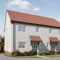 Thumbnail 3 bed semi-detached house for sale in Buzzard Way, Holt