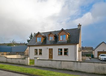 Thumbnail 4 bed detached house for sale in Hill Street, Newmill, Keith