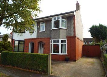 Thumbnail 3 bed semi-detached house for sale in Belgrave Avenue, Penwortham, Preston, Lancashire