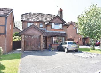 Thumbnail 4 bed detached house for sale in Picton Close, Bridgend