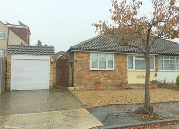 Thumbnail 2 bed semi-detached bungalow for sale in Carlton Close, Chessington