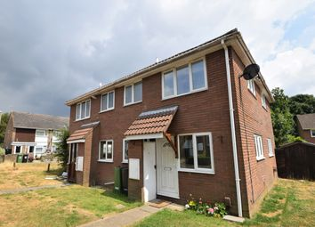 Thumbnail 1 bed end terrace house to rent in Abraham Close, Botley, Southampton