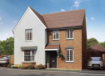 "Thumbnail 4 bed detached house for sale in ""Holden"" at Locksbridge Road, Picket Piece, Andover"