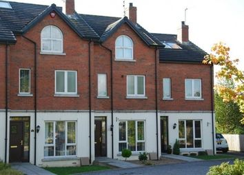 Thumbnail 3 bedroom town house to rent in The Close, Lisburn