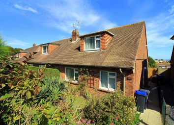 Thumbnail 3 bedroom property for sale in Downsway, Southwick, Brighton