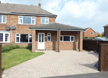 Thumbnail 4 bed semi-detached house for sale in Rutland Drive, New Waltham, Grimsby