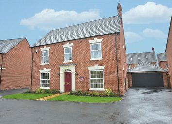 Thumbnail 4 bed detached house for sale in Hallowell Fields, West Haddon, Northampton