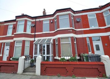Thumbnail 3 bed terraced house to rent in Tancred Road, Wallasey