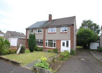 Thumbnail 3 bed semi-detached house for sale in Flora Gardens, Bishopbriggs, Glasgow, East Dunbartonshire