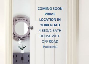 Thumbnail 4 bed terraced house for sale in York Road, Bury St. Edmunds