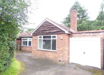 Thumbnail 3 bed detached bungalow to rent in Park View Road, Four Oaks, Sutton Coldfield