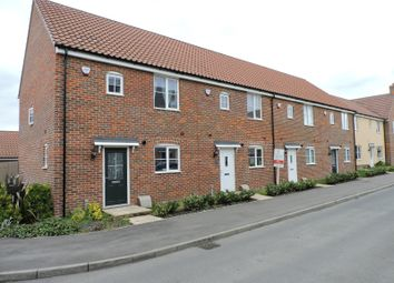 Thumbnail 3 bedroom end terrace house for sale in Celandine View, Soham, Cambridgeshire