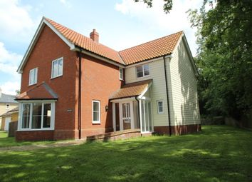Thumbnail 4 bed detached house for sale in Borley Green, Woolpit, Suffolk