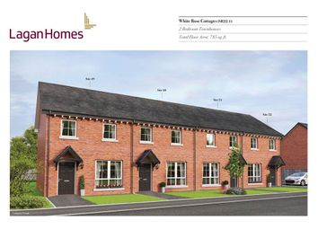 Thumbnail 2 bed town house for sale in 49, Windrush Park, Antrim