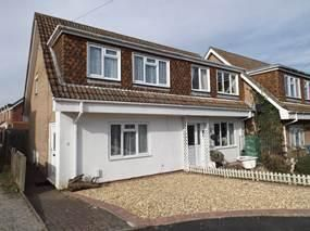 Thumbnail 3 bedroom semi-detached house for sale in Boldre Close, Parkstone, Poole