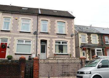 Thumbnail 4 bed end terrace house for sale in Hawarden Place, Troedyrhiw, Merthyr Tydfil