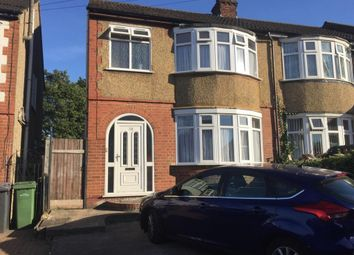Thumbnail 3 bed terraced house to rent in Blundell Road, Leagrave