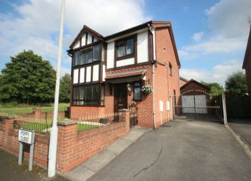 Thumbnail 3 bed detached house for sale in Poppy Close, Wythenshawe, Manchester