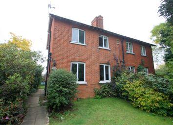 Thumbnail 2 bed semi-detached house for sale in Thorpe Lea Road, Devils Lane, Egham, Surrey