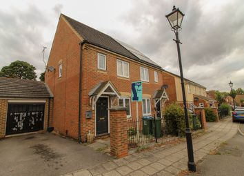 Thumbnail 3 bed semi-detached house for sale in Sandhill Way, Aylesbury