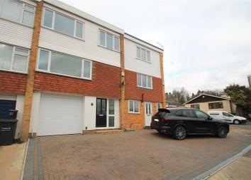 Thumbnail 4 bedroom terraced house for sale in Elmfield Close, Gravesend, Kent
