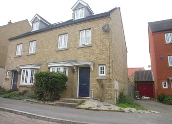 Thumbnail 4 bedroom semi-detached house to rent in Whittington Chase, Kingsmead