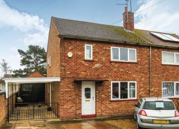 Thumbnail 3 bed semi-detached house for sale in Edinburgh Crescent, Bourne