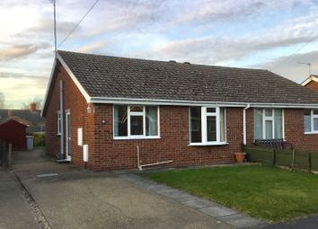 Thumbnail 2 bedroom semi-detached bungalow to rent in Priory Close, Louth
