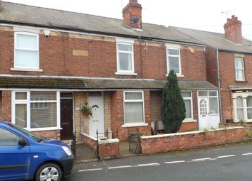 Thumbnail 2 bed terraced house to rent in Croftson Terrace, Sidsaph Hill, Walkeringham, Doncaster