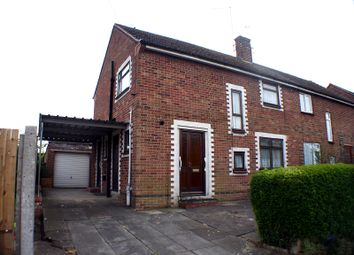 Thumbnail 3 bed semi-detached house for sale in Windsor Road, Wellingborough, Northamptonshire.