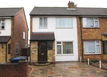 Thumbnail 3 bed end terrace house for sale in Beechwood Avenue, Greenford