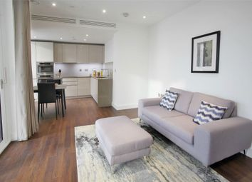 Thumbnail 1 bed flat to rent in Haydn Tower, Nine Elms Point, 50 Wandsworth Road, Vauxhall