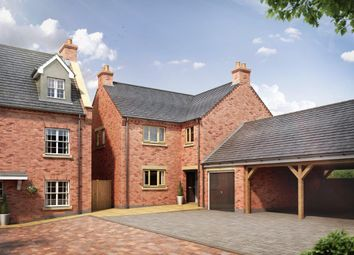 Thumbnail 4 bed detached house for sale in Manor View Gardens, Overseal, Swadlincote