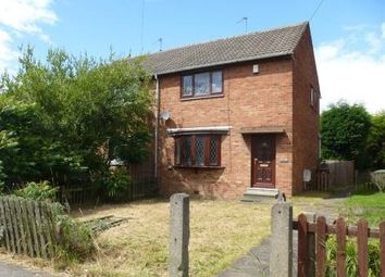 Thumbnail 2 bed semi-detached house to rent in Hendal Lane, Kettlethorpe