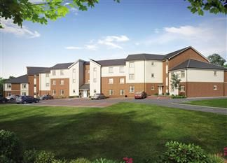 Thumbnail 2 bedroom flat for sale in Cleadon Vale, King George Road, South Shields