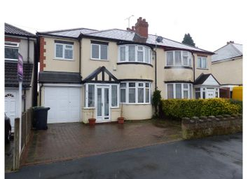 Thumbnail 4 bedroom semi-detached house for sale in Olive Hill Road, Halesowen