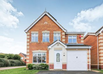 Thumbnail 4 bed detached house for sale in Odin Court, Scartho, Grimsby