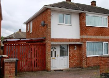 Thumbnail 3 bed semi-detached house to rent in Dovedale Road, Thurmaston, Leicester