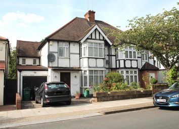 Thumbnail 4 bed semi-detached house for sale in Hurstwood Road, London