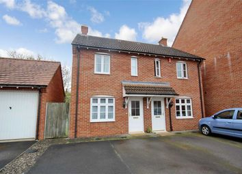 Thumbnail 2 bed semi-detached house for sale in Giotto Close, Oakhurst, Swindon