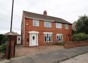 Thumbnail 3 bed semi-detached house for sale in Biddleston Crescent, North Shields