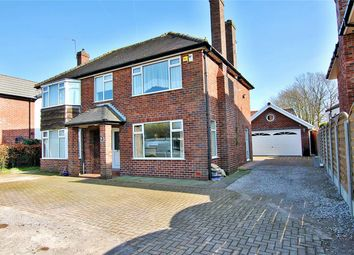 Thumbnail 3 bed detached house for sale in School Lane, Rixton, Cheshire