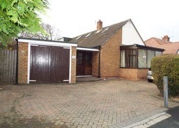 Thumbnail 3 bed detached bungalow for sale in Heathfield Road, Bebington, Wirral