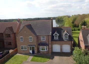Thumbnail 5 bedroom detached house for sale in Leys Close, North Hykeham, Lincoln