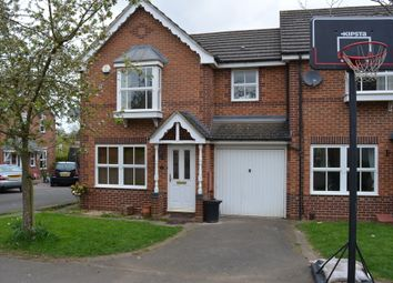 Thumbnail 3 bedroom town house for sale in Hornbeam Close, Oadby, Leicester