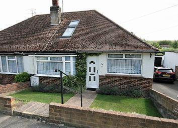Thumbnail 3 bed semi-detached bungalow for sale in Eley Crescent, Rottingdean, Brighton